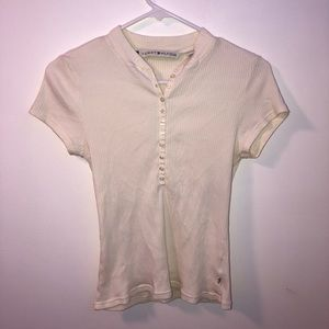 Tommy hilfiger t shirt with buttons